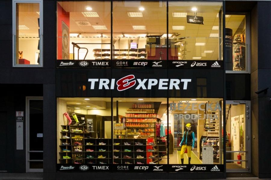 Prodejna Triexpert v Brně