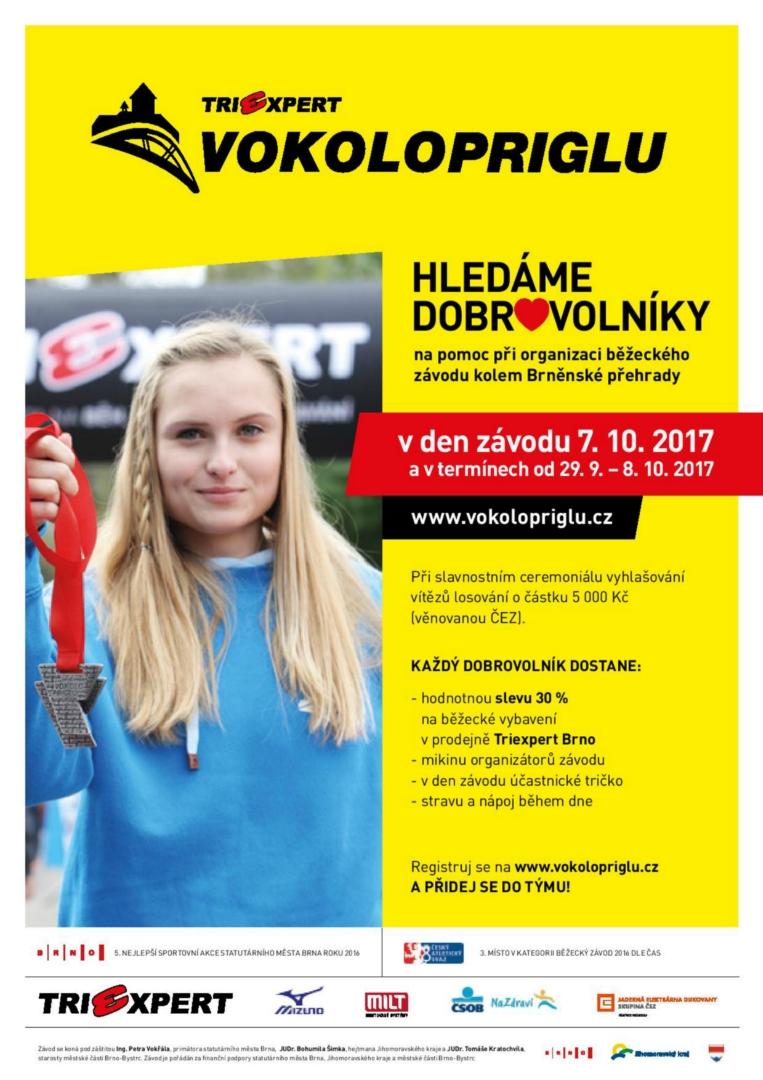 Dobrovolníci TRIEXPERT Vokolo priglu 2017