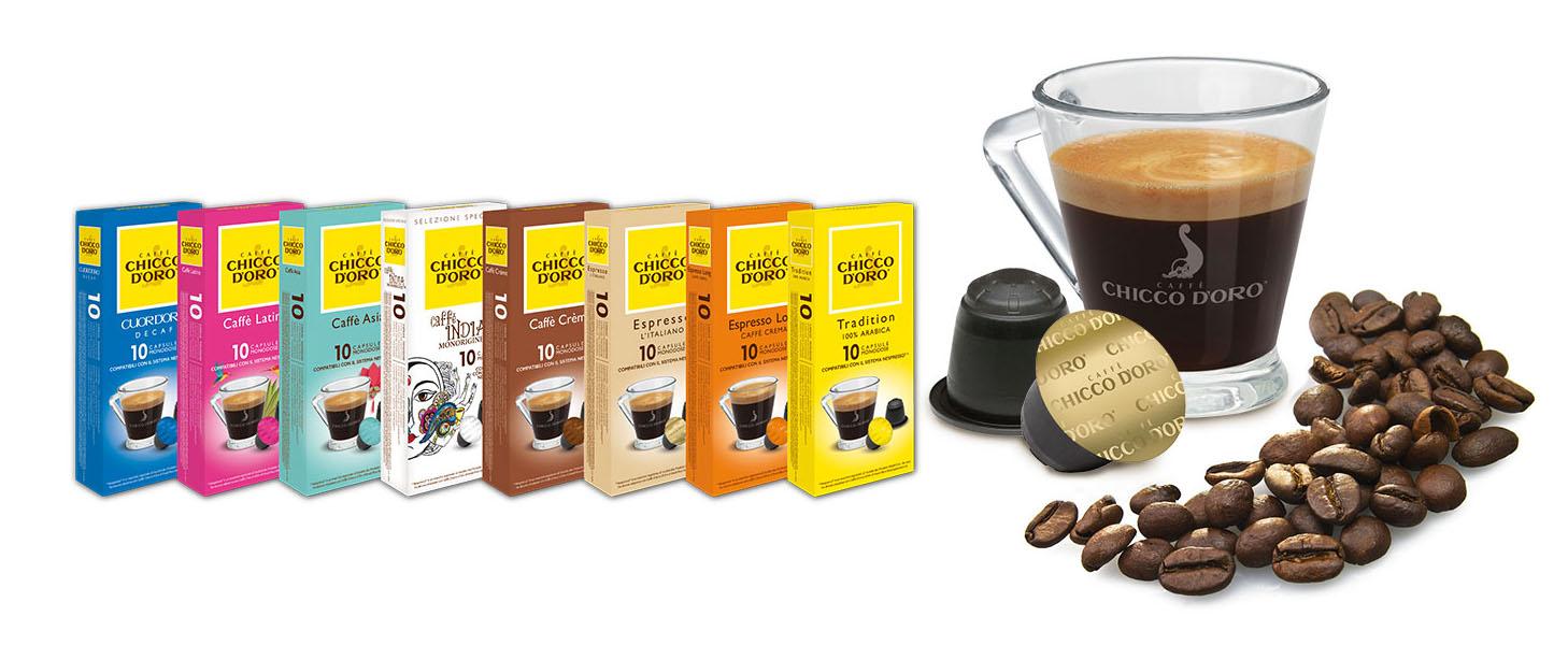 Káva Chicco d'Oro