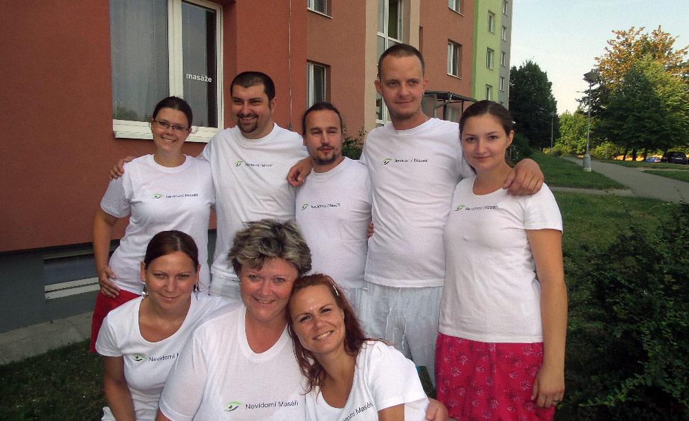 Nevidomí maséři Brno