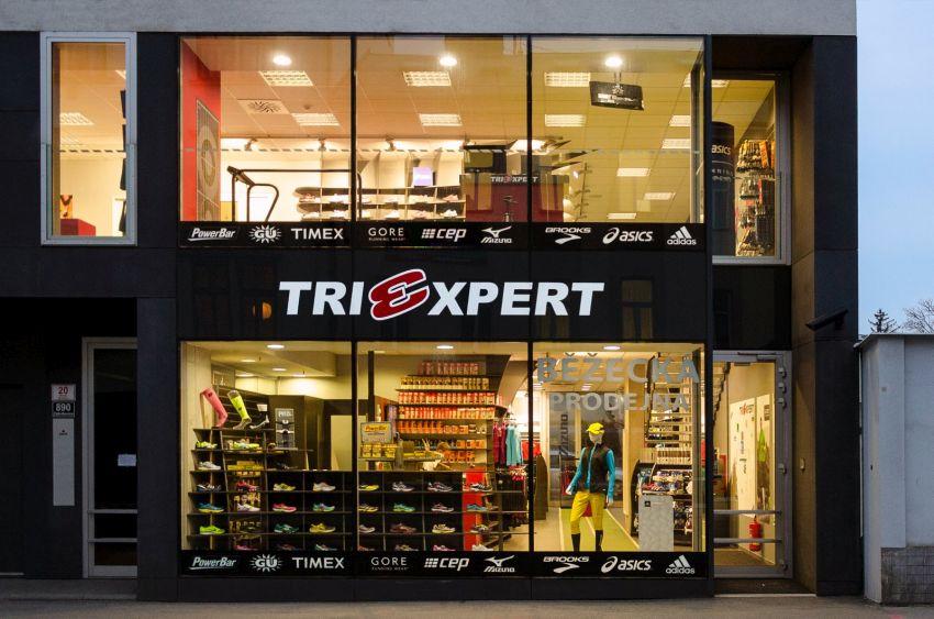 Běžecká prodejna TRIEXPERT v Brně