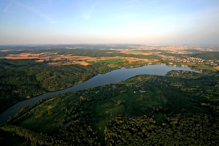 Brno lake